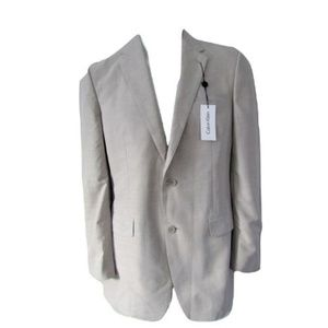 "Calvin Klein ""Magli"" Suit Jacket 40 Long (NEW!)"